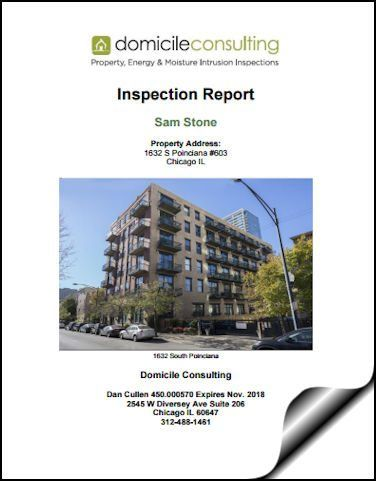 Chicago Home Inspection Report  Sample Home Inspection Report